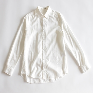 evam eva cotton cashmere shirt (off white)