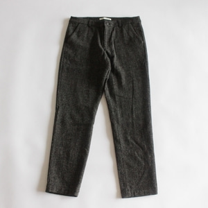 evam eva wool narrow pants (dark brown)