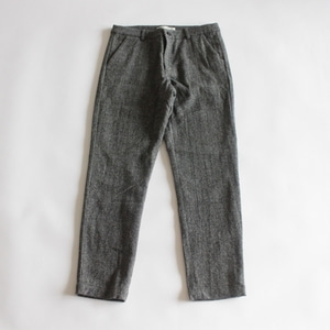evam eva wool narrow pants (gray)