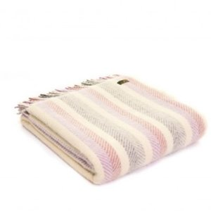 Rainbow Lilac Throw
